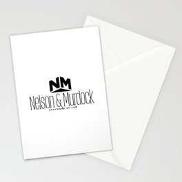 Nelson and Murdock Stationery Cards