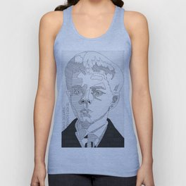 David Zellaby / Midwich Cuckoo Unisex Tank Top