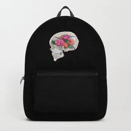 Floral Skull Backpack