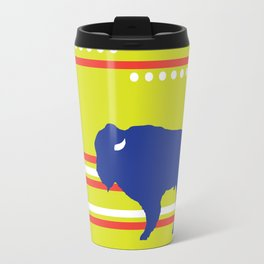 Bison striped Travel Mug