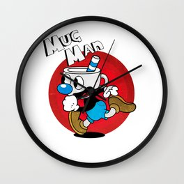 Mug Man Wall Clock