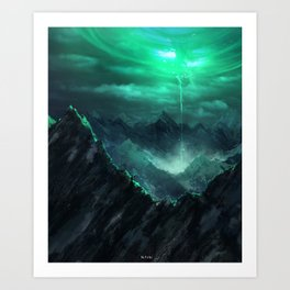 The Breach Art Print