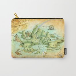 Neverland Map Carry-All Pouch