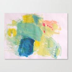 Life in Aqua Canvas Print