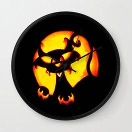 Halloween Trick or Treat Bag Wall Clock