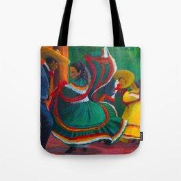 Baile Folklorico Tote Bag