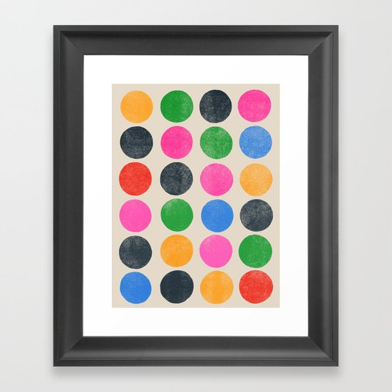 colorplay 3 Framed Art Print