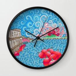 Christmas Ball Donnanna Wall Clock