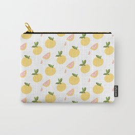 Pink Grapefruit Juice Carry-All Pouch