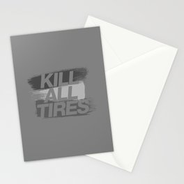 Kill All Tires v6 HQvector Stationery Cards