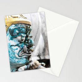 Buddhist Temple Demon Stationery Cards