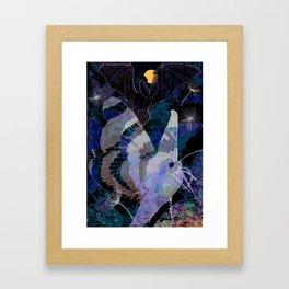Dark Summer Framed Art Print