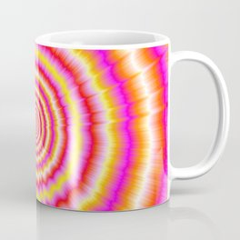 Shockwaves in Violet and Yellow Coffee Mug