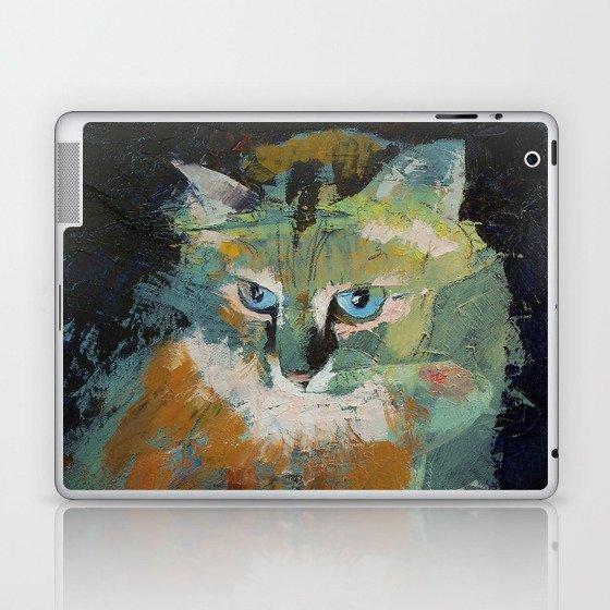 Himalayan Cat Laptop & iPad Skin