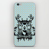wasted rita iPhone & iPod Skins featuring wasted years by aceofspades81