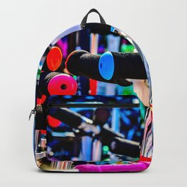 Colorful scooter handles Backpack