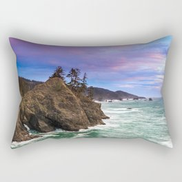 Thunder Rock Cove Sunset Rectangular Pillow
