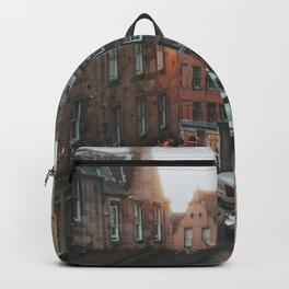 Golden Hour in Edinburgh Backpack