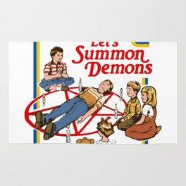 Let's Summon Demons Rug