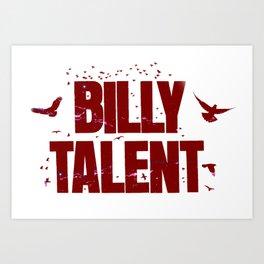 Billy Talent Art Print