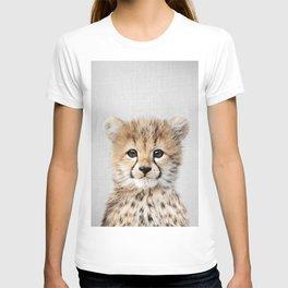 Baby Cheetah - Colorful T-shirt