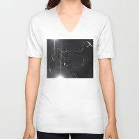 elk V-neck T-shirts featuring ELK by Danielle Fedorshik