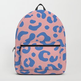 Peachy Animal Print Backpack