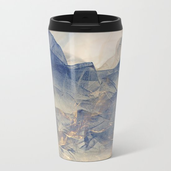 Tulle Mountains Metal Travel Mug