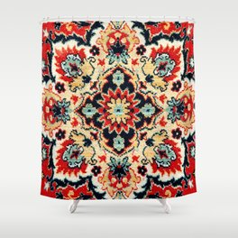 Image of colorful oriental carpet Shower Curtain