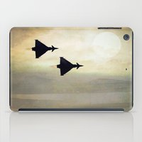 foo fighters iPad Cases featuring Euro Fighters by Peaky40