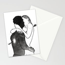 The love arrow. Stationery Cards