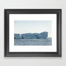 arctic giant - greenland Framed Art Print