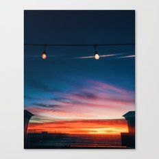Sunset at Pismo Beach Canvas Print