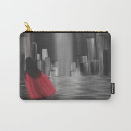 Girl With A Red Cape Carry-All Pouch