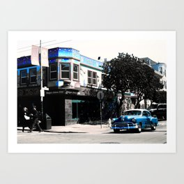 San Francisco Car Art Print