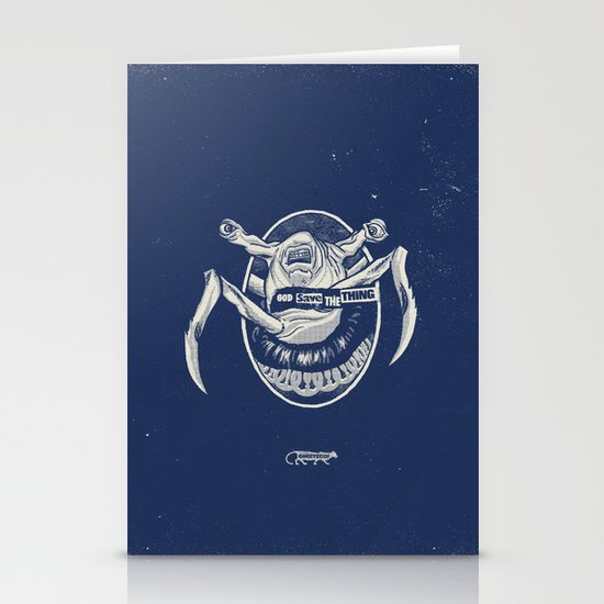 God Save the Thing Stationery Cards