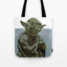 There is no try. Tote Bag