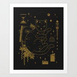 Magical Assistant Art Print