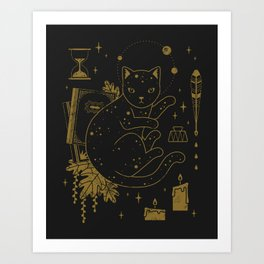 Magical Assistant Art Print