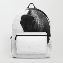 A Bison - Monochrome Backpack