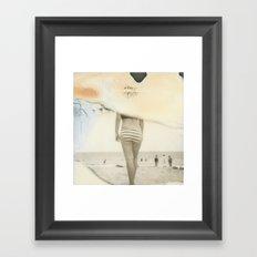 Beach #3 Framed Art Print