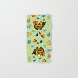 Little Toad Halloween Hand & Bath Towel