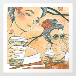 Those Who Coffee Art Print