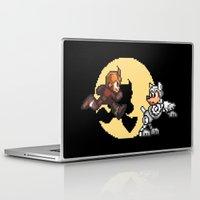 tintin Laptop & iPad Skins featuring Mega TinTin Man by 84Nerd