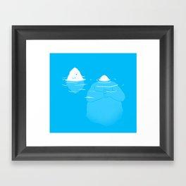 The Tip Of The Iceberg Framed Art Print