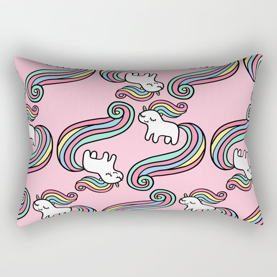 Cute Unicorn Rectangular Pillow