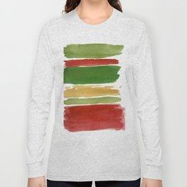 Christmas Colour Palette Long Sleeve T-shirt