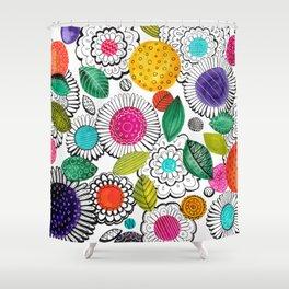 Floral Fun Shower Curtain