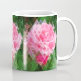Pink Roses in Anzures 2 Art Triangles 2 Coffee Mug