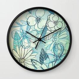 Floralista Wall Clock